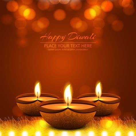 candles   warm background  diwali vector