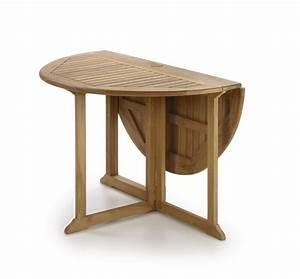 Table En Teck Massif : table repas pliable compacte en teck massif collection rinca ~ Teatrodelosmanantiales.com Idées de Décoration