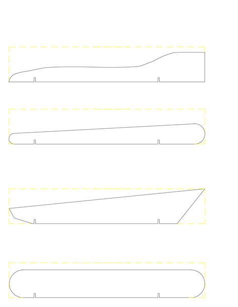Pinewood Derby Template Pin Pinewood Derby Templates On