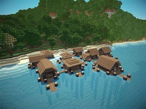 beach village minecraft minecraft crafts minecraft