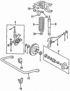 1996 Mazda B4000 Hub Assembly  Hub Manual  Locking Hub