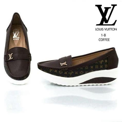 jual sepatu wanita fashion lv 1 b branded shoes sepatu branded di lapak tas perfex batam
