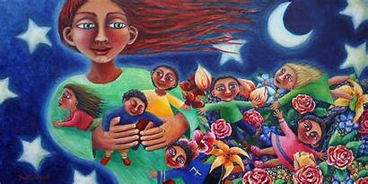 Mother Earth Indigenous Things Children Occupy