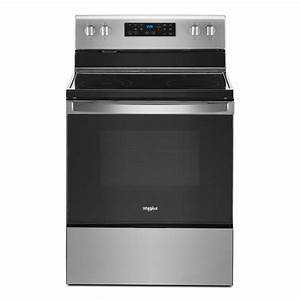 Whirlpool 30 In  5 3 Cu  Ft  Electric Range With 5