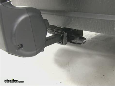 thule bike rack lock thule snug tite hitch lock and anti rattle device thule
