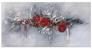 Bilder Acryl Abstrakt : acryl gem lde 39 abstrakt rot grau struktur 39 handgemalt leinwand bilder 4251155713048 ebay ~ Whattoseeinmadrid.com Haus und Dekorationen