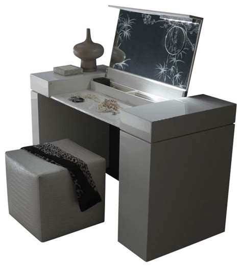 Signature Bathrooms by Nightfly Dressing Table White Modern Dressers By Inmod
