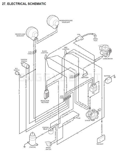 yerf dog cc wiring diagram  kart buggy depot
