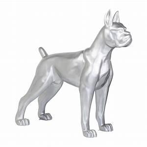 Statue Chien Design : d co chien toto xxl argent e kare design ~ Teatrodelosmanantiales.com Idées de Décoration