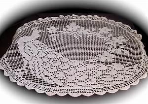 Free Crochet Table Cloth Pattern