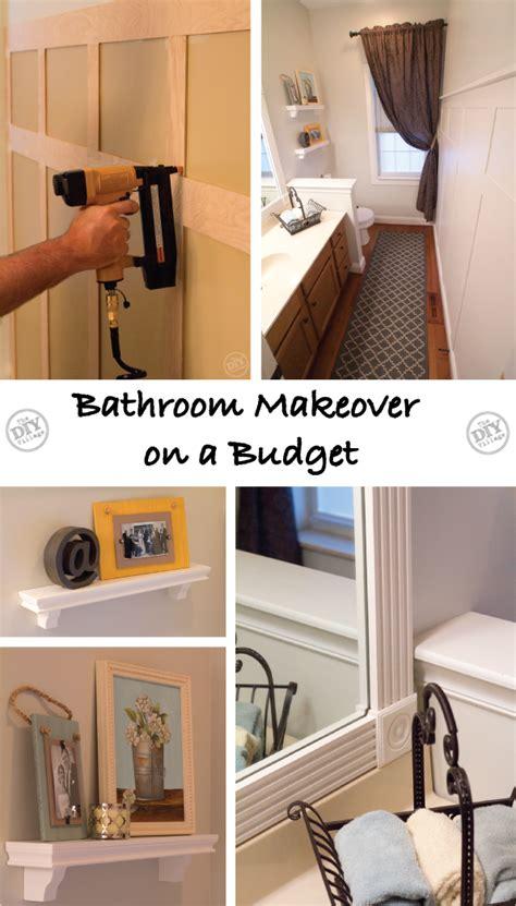 bathroom makeover   budget lowes creators