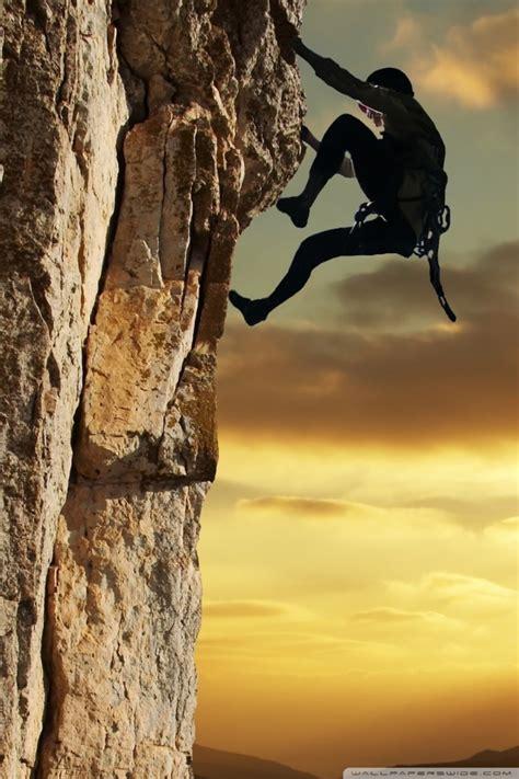 Rock Climbing Desktop Wallpaper High Definition