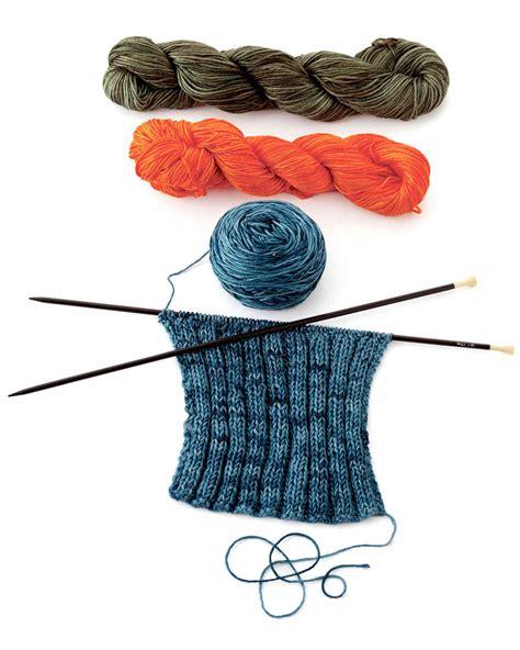 knitting tools  materials martha stewart