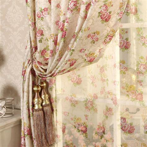 cretonne recommended  flower curtains living bedroom