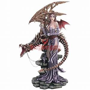 Skeletal Dragon Fairy Statue - 05-91352 from Dark Knight