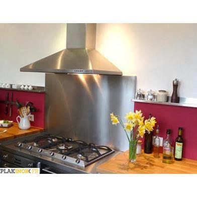 cuisine prete a poser prete a poser eco crédence inox 60 x 70 cm 11mm