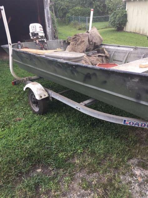 16 Foot Flat Bottom Boat by 16 16 Foot Starcraft Flat Bottom Aluminum Boat Johnson 25