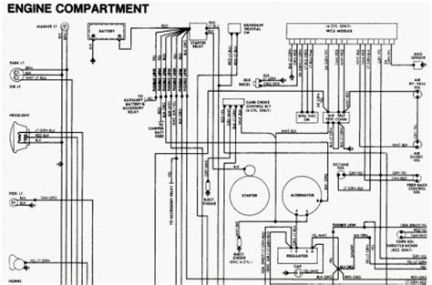 Starter Wiring Diagram 1984 Ford by 1983 Ford F150 Headlight Switch Wiring Diagrams F 100