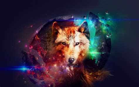 Galaxy Wolf Wallpaper Hd by Galaxy Wolf Wallpaper 69 Images