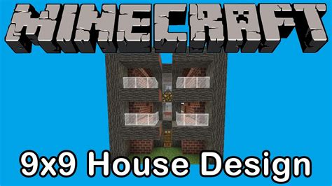 minecraft  house design youtube
