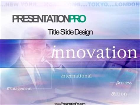 royalty  innovation animated powerpoint