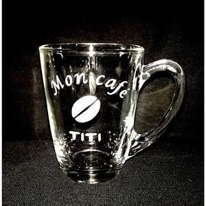 Verre à Café : gravure tasse cafe ~ Teatrodelosmanantiales.com Idées de Décoration