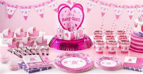 deco baby shower fille articles de f 234 te baby shower fille partycity eu