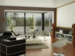 black brown white living room projector screen interior design ideas