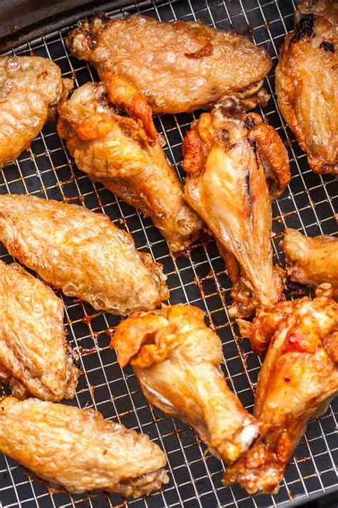 fryer wings chicken air oven cooking cook fried crispy recipe recipes extra deep wing airfryer baking frying platedcravings easy printable