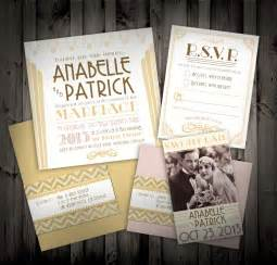 gatsby wedding invitations great gatsby deco themed wedding invitations and by nimbishop