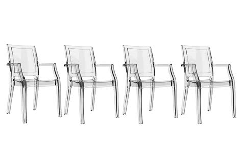 lot de 4 chaises pas cher chaise design transparente lot de 4 quadro chaises