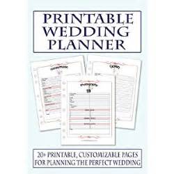 the ultimate wedding planner organizer free printable wedding planning worksheets