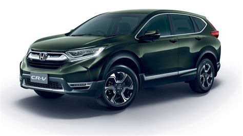 honda cr  launched  thailand prices start