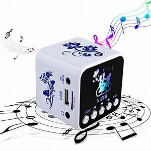 Nizhi Portable Mini Speaker With Fm Radio  Small Speakers