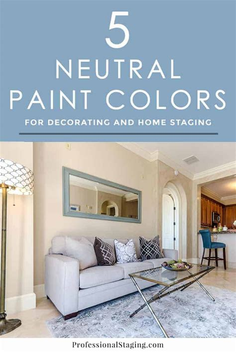 5 beautiful neutral paint colors for walls