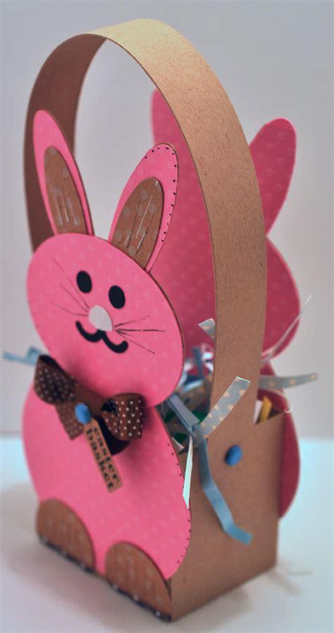 cutting cafe bunny treat boxtemplate cutting file