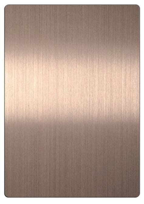 steel color china bronze color 201 stainless steel sheets with brushed