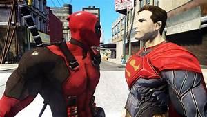Deadpool, Vs, Superman, -, Epic, Battle