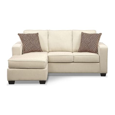 ready to assemble sofa sterling innerspring sleeper sofa with chaise beige