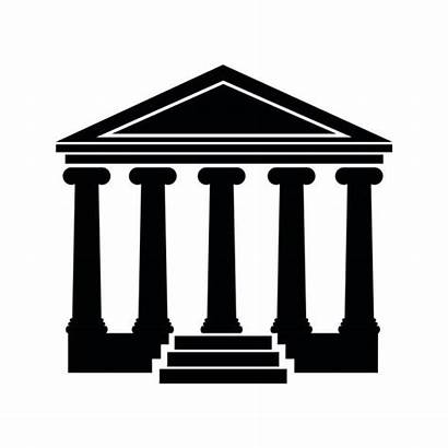 Clipart Court Supreme Building Cliparts Webstockreview Svg