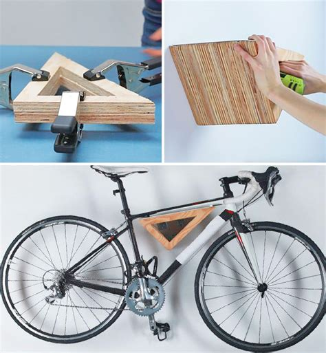 Creative Diy Bike Storage Racks  Decorating Your Small Space