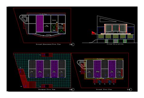 commercial building dwg block  autocad designs cad