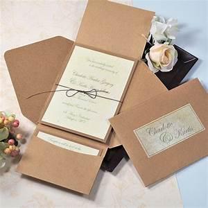 premium self mailer invitation kit couture bridal With buy wedding invitation kits online