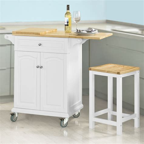 sobuy kitchen trolley  extendable worktop kitchen