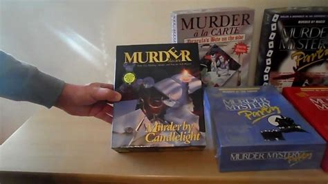 mystery murder party dinner kits