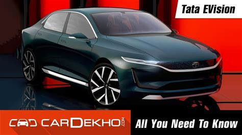 E Car Price by Tata Evision Electric Car Concept All You Need To