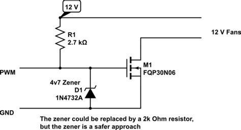 Use Motherboard Pwm Control Non Fans With Mosfet