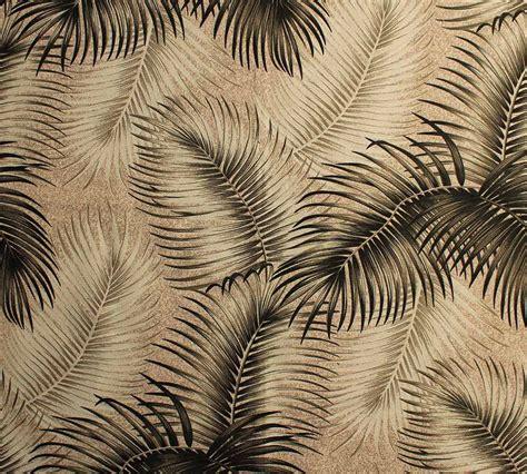 tropical leaf print barkcloth fabrics   colorways