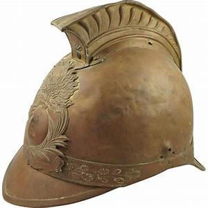 19th Century French Pompiers Fireman39s Helmet From Trinity