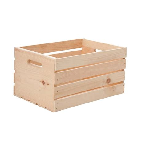 caisse de bois en pin naturel 17 5 quot x 12 5 quot x 9 5 quot r 233 no d 233 p 244 t
